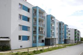 PassivhausSozialPlus in der Lincolnsiedlung Darmstadt