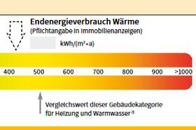 Ausschnitt Energieverbrauchsausweis
